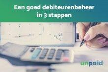 Een goed debiteurenbeheer