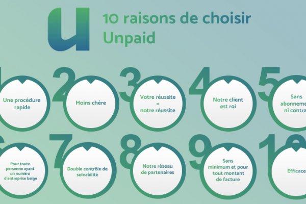 10 raisons de choisir Unpaid