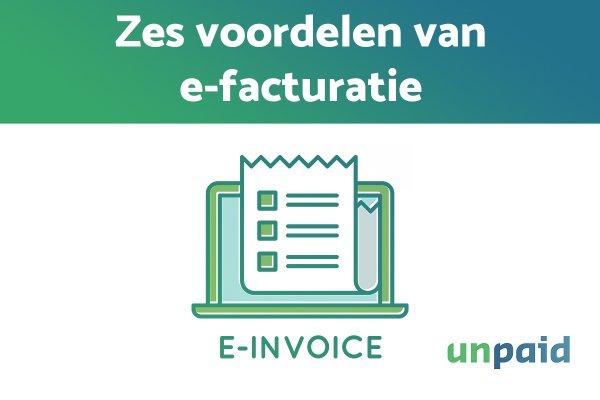 voordelen e-facturatie