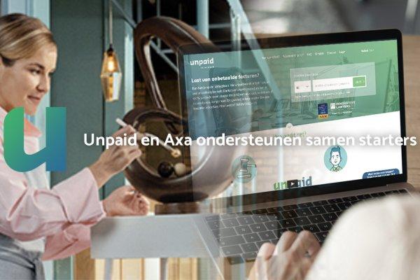 Unpaid en AXA ondersteunen samen starters