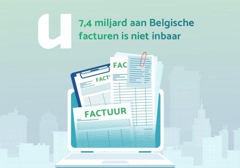 7,4 miljard aan Belgische facturen is niet inbaar