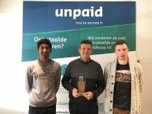 Unpaid remporte le Credit Management Innovation Award