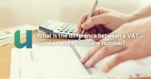 What is the difference between a VAT number and a company number?