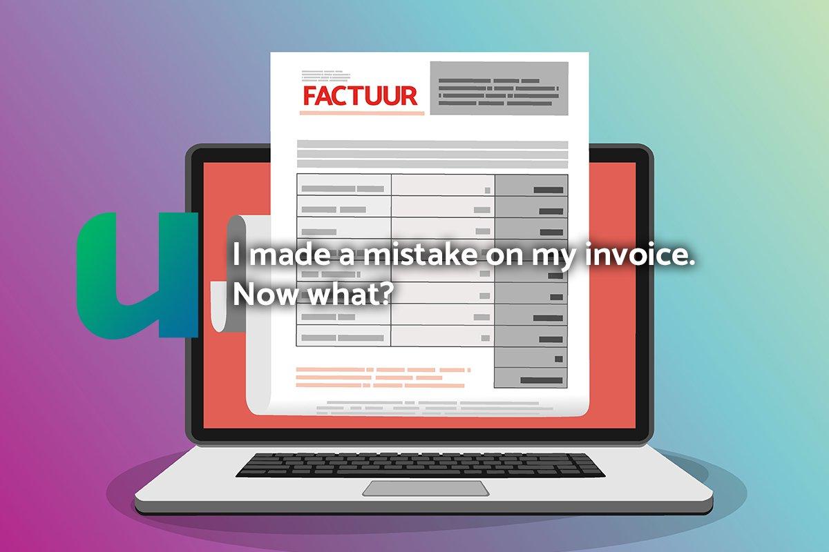 mistake on invoice