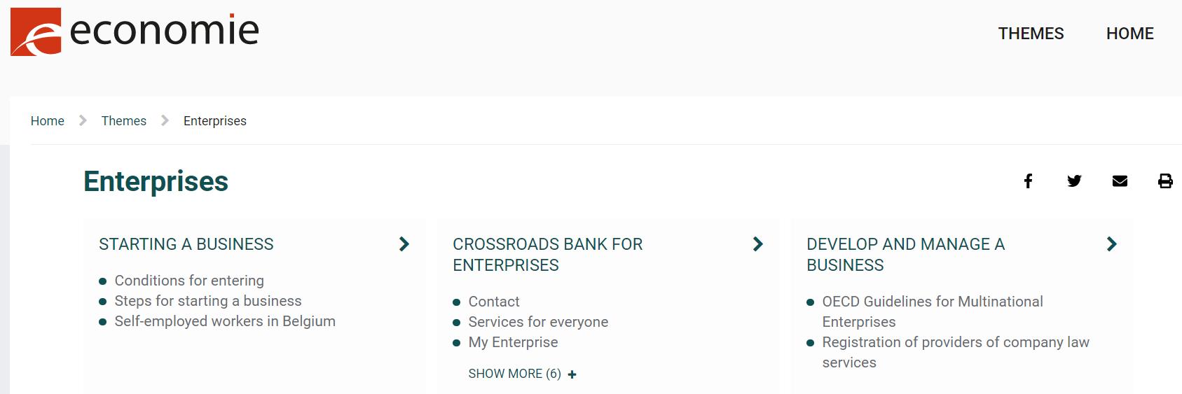 Federal Crossroads Bank for Enterprises