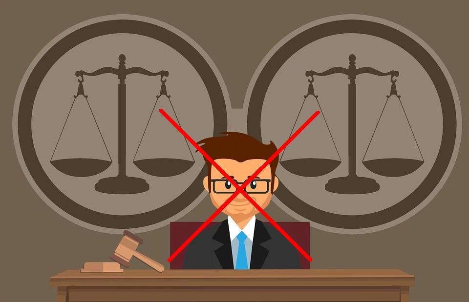 geen rechter nodig
